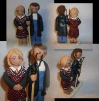 addams family wedding cake family wedding topper by gingerbabies on deviantart 10539