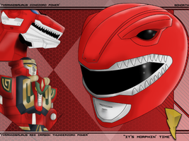 The Red Ranger by GoNorth