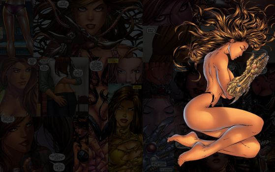 Witchblade.TurnerClassic by Troilus
