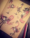 Flamobsters by 47ness