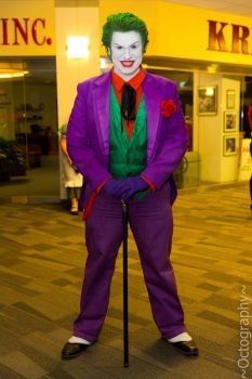 The Joker Ohayocon 2013 (My Cosplay) by JackSkelling10