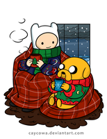 Adventure Time - Really Big Sweaters by caycowa
