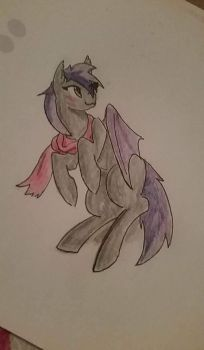 Keevki the Batpony by Taklet