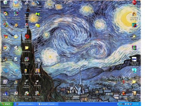 Starry Night by Van Gogh by samecool11