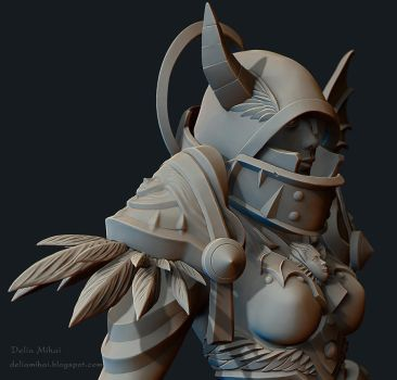 World of Warcraft Paladin Fanart 02 by delira