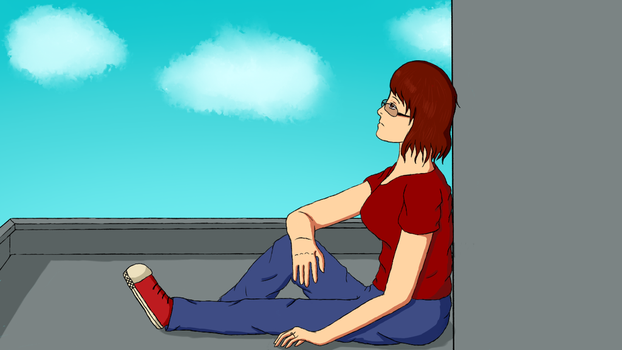 Sky Watching by Kaiyoko-chan