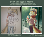 Draw this again meme by VIBURED