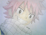 Smile for Awhile- Natsu Dragneel by DecepticonOptiPrime