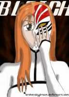 Bleach - Hollow Orihime by brokendaydream