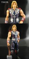 Sleeveless Avengers Thor Action Figure by Jin-Saotome