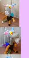 Discord finished plushie by Crystal-Dream