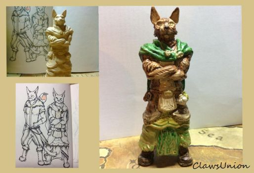 Cat sculpture experiment by ClawsUnion
