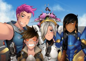 Overwatch - First, let us take a selfie by Tripower