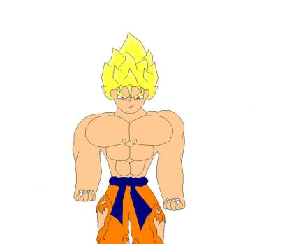 goku not finshed by superfsh09