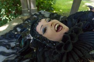 Stock - Vampire Queen laying 2 by S-T-A-R-gazer