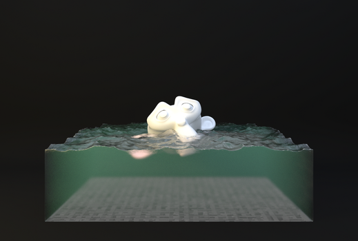Procedural Water ~ Finished by JoeyBlendhead