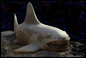 Sand Sharky by sculptin