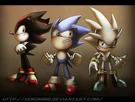 Toei hedgehogs by XenoMind