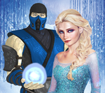 Sub-Zero X Elsa by TheG-Flash