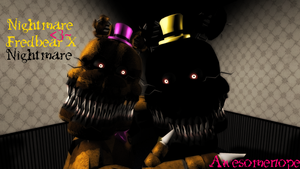 Beaches] Fnaf nightmare x reader lemon