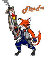 Heroes -- Fire Fox by SUPERcubs