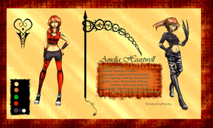 Amelia Heartwell Reference by cataxa