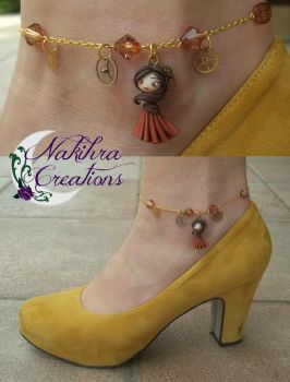 Steampunk Anklet by Nakihra