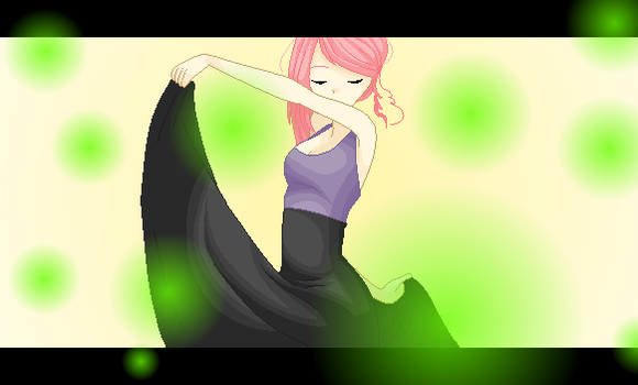 Dancing with the Fireflies :: New OC :: by Allyza-Awesome123