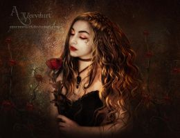 The Rose Beauty by annemaria48