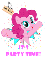 Pinkie Party Time by Wolfram-And-Hart