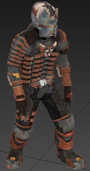 Isaac Clarke Engineering Rig- Dead Space 2 model by Mister--Jake