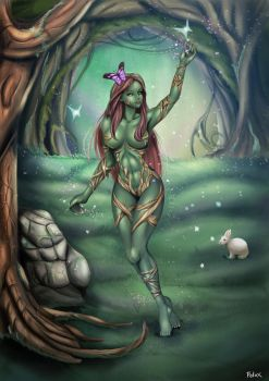Lady of the Enchanted Forest by Felox08