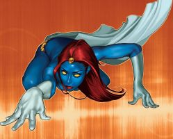 Mystique by MarvelZombies