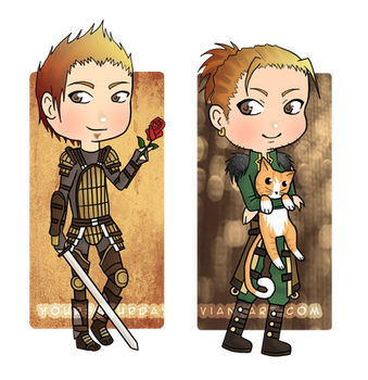 Dragon Age Charms pt2 by yourSATURDAY