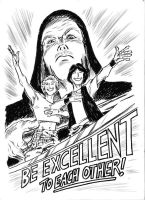 bill and ted by kaeae