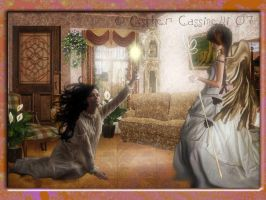 waiting for my angel by Ecathe