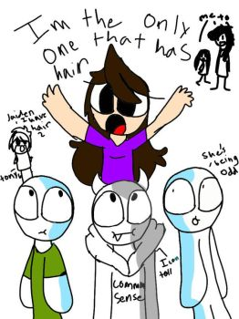 jaiden is the only one with hair #animation squad by EmlzT33