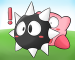 Kirby Tuesday- Gordo by thegamingdrawer
