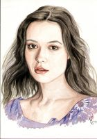 River Tam - Watercolour by TheDoThatGirl