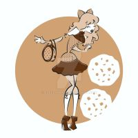 Harajuku Sweets - Chocolate Chip Cookie by Elfedward
