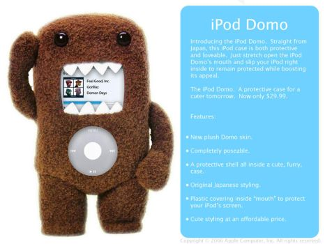 iPod Domo by iReap