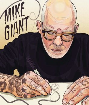Mike Giant Portrait by tompos