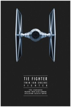 TIE Fighter by WEAPONIX