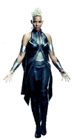 X-Men Apocalypse's Storm: Transparent Background! by Camo-Flauge