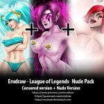 League of legends nude Pack by erodraw