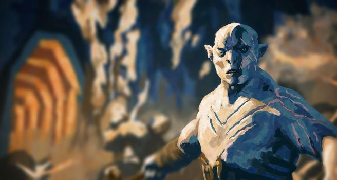 Azog the Defiler by dango-Yullen-soba