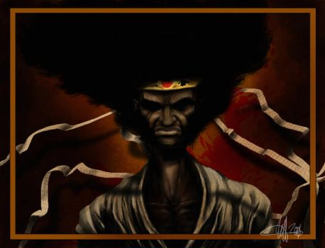 Afro by SharpWriter