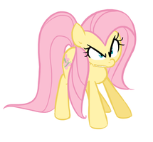 Angry Fluttershy by TheSassyJessy