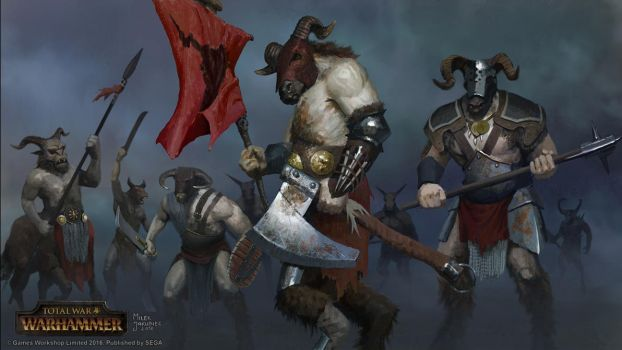 Beastmen faction by EthicallyChallenged
