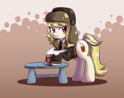 Whinnyapolis Delegate and Hot Drink by tikrs007